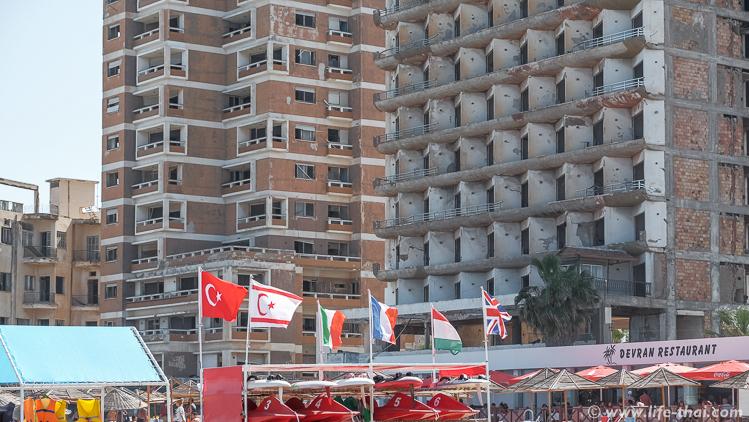 Флаги государств, сотрудничающих с Северным Кипром