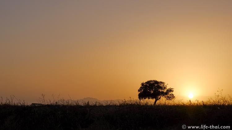 Северный Кипр, закат