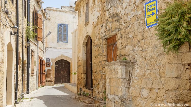 Улицы города, Кирения, Северный Кипр