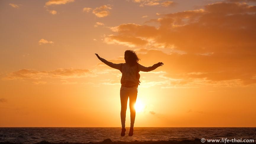 Я, Закат на Кипре, фото