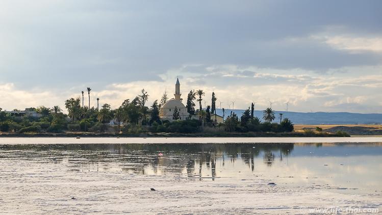 Мечеть у солёного озера в Ларнаке, Кипр