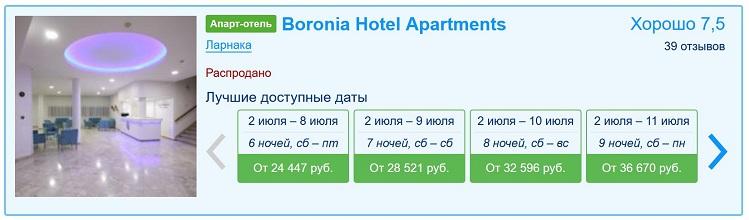 На Кипр самостоятельно: сколько стоит отель