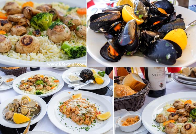 черногорская еда, морепродукты, ризотто