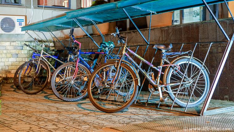 Парковка для велосипедов, Тирана, Албания