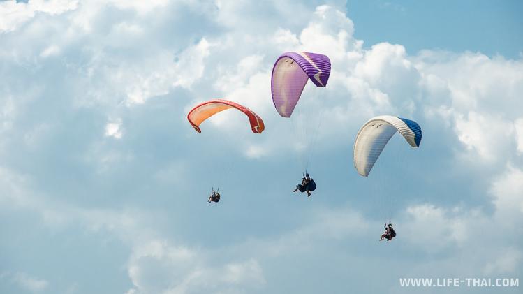 Полёты на параплане в Крыму, Коктебель