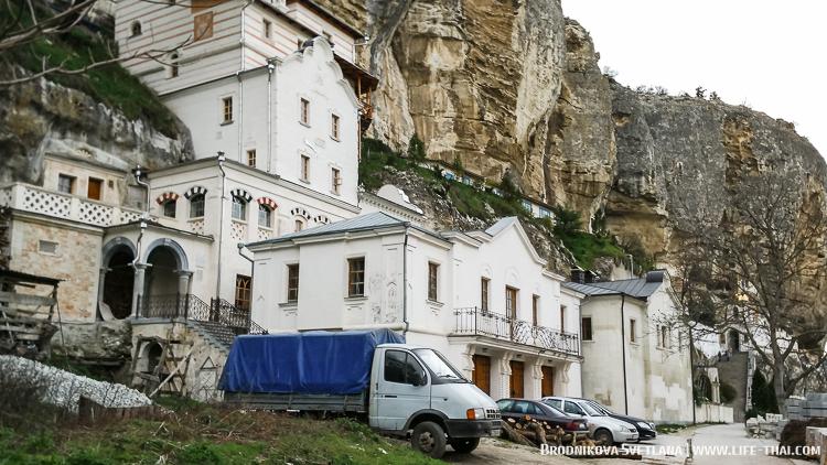 Церковь в скале, маршрут путешествия по Крыму
