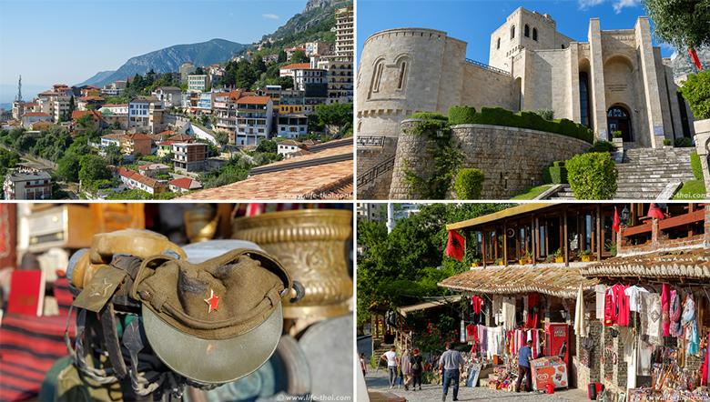 Круя, музей Скандербега, достопримечательности Албании