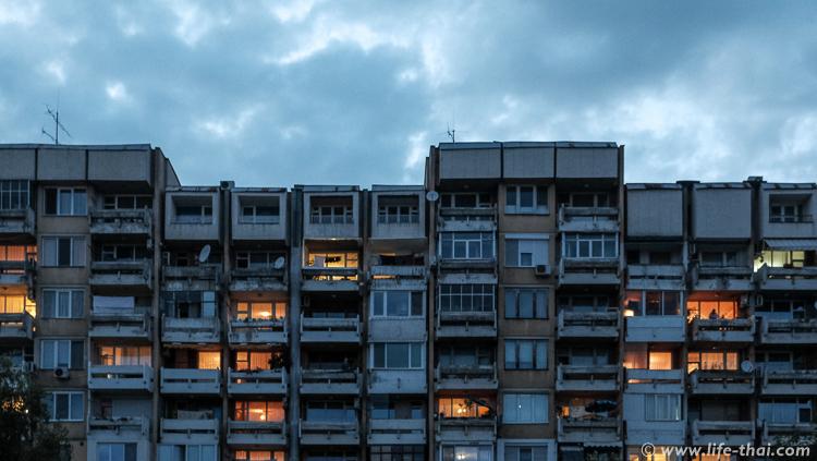Многоэтажка в Пловдиве, Болгария