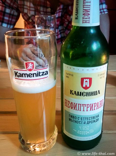 Каменица - самое вкусное болгарское пиво