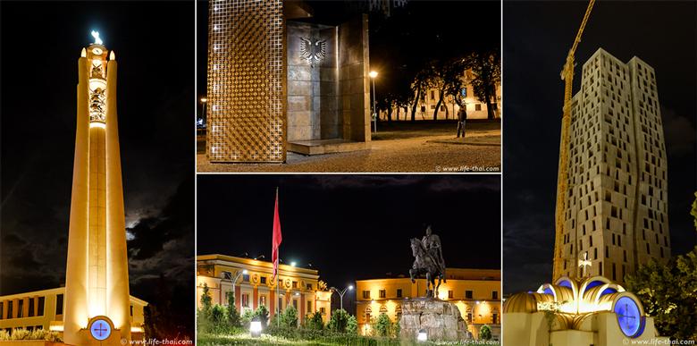 Достопримечательности Тираны, Албания