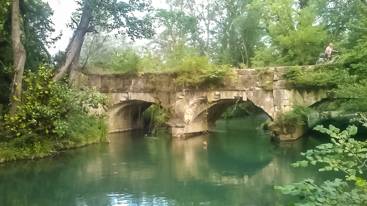 По Крыму на велосипеде. Акведук на Черной реке
