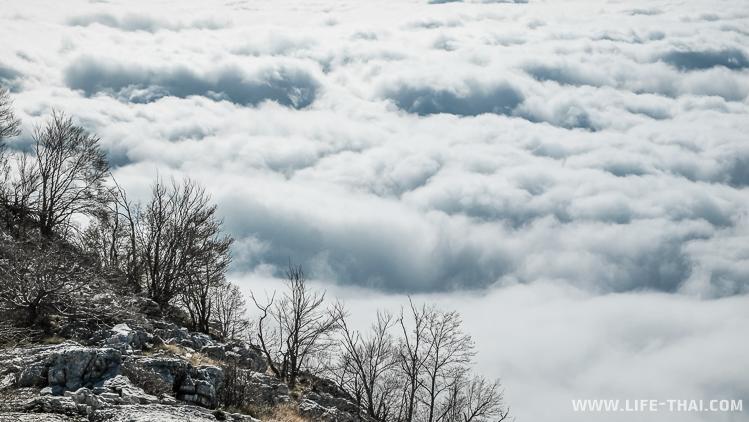 Выше облаков - дорога с горы Ловчен в Котор, Черногория
