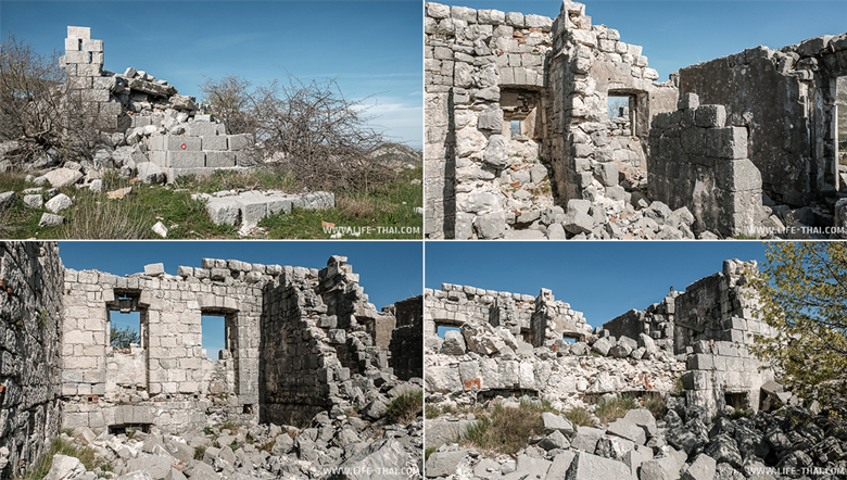 Форт Обер Грковац, Черногория