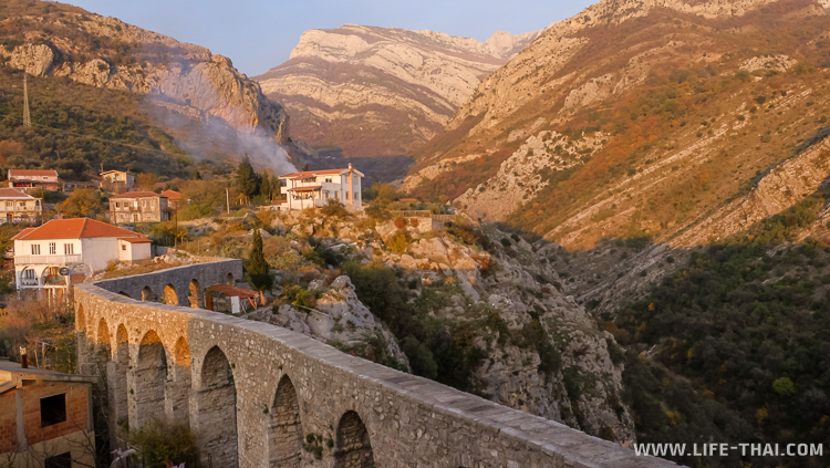 Старый акведук, достопримечательности Бара, Черногория