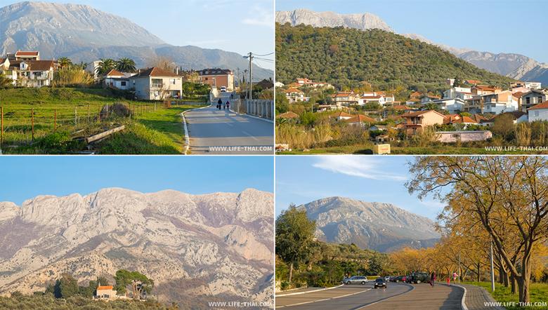 Дорога в Старый город Бара, Черногория