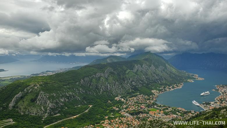 Боко-Которский залив в мае, Черногория