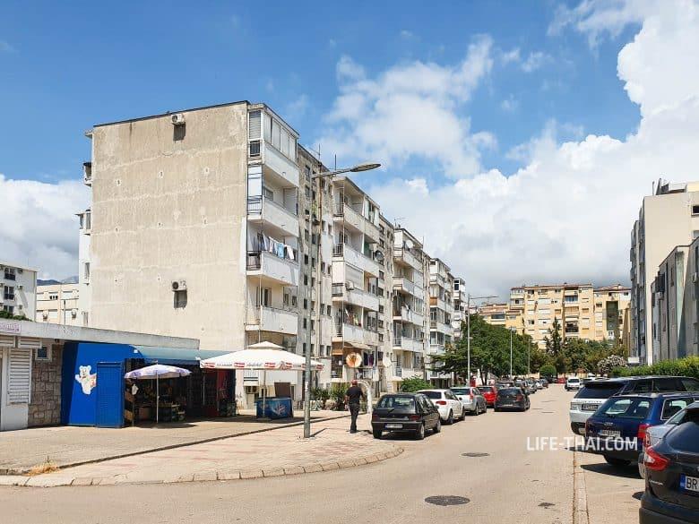 Как выглядит курорт Бар в Черногории