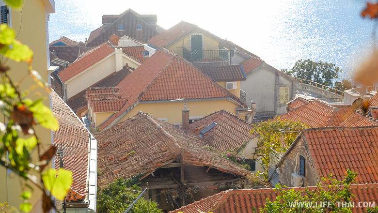 улочки Герцег-Нови, Черногория