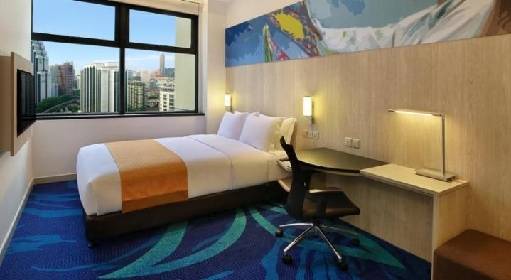 Holiday Inn - отель для шоппинга в центре Куала Лумпура