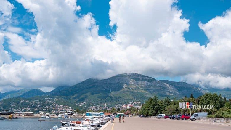 Набережная в Баре - одна из лучших в Черногории