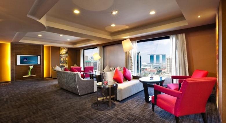 Novotel - один из лучших отелей в Сингапуре