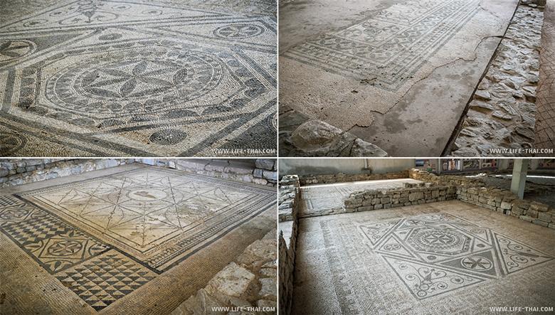 Римские мозаики, достопримечательности Черногории