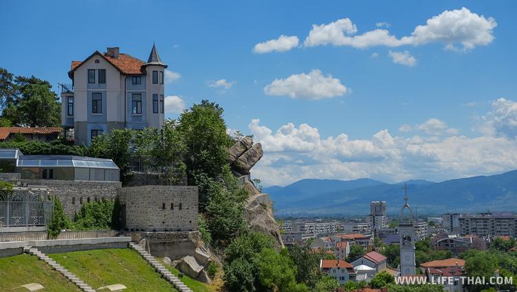 Старый город в Пловдиве, историческая часть, Болгария