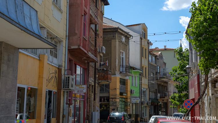 Старый город в Пловдиве, Болгария