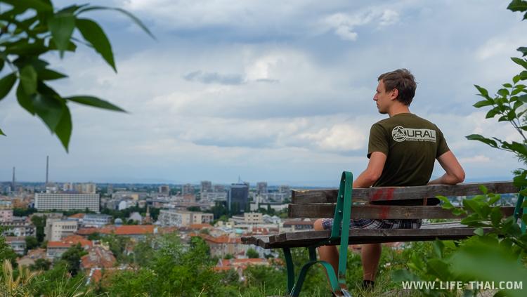 Панорама Пловдива, Болгария