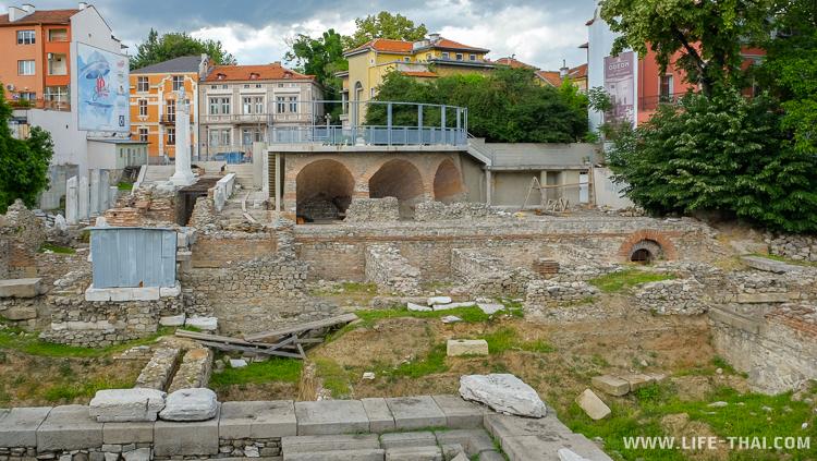 Римский одеон в Пловдиве, достопримечательности, Болгария