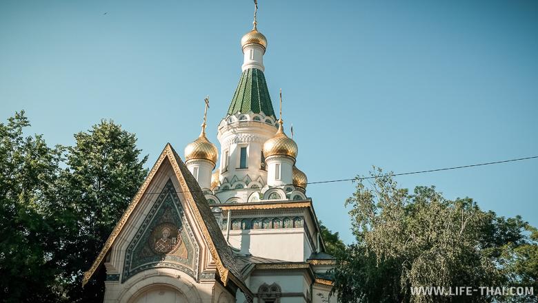 Русская посольская церковь в Софии, Болгария