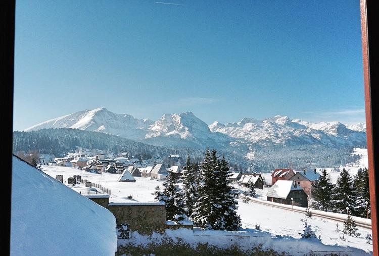 Вид из окна в Ski Otel, Дурмитор, Черногория
