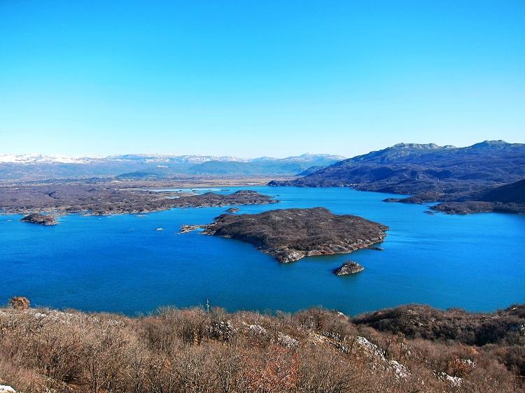 Сланское озеро, Черногория