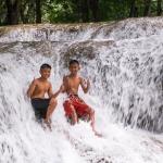 Водопады Kroeng Krawia в Канчанабури