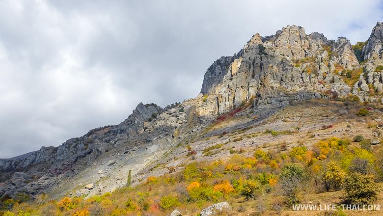 Осенний Демерджи, Крым