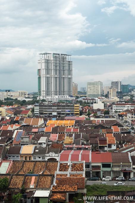 Вид на Пинанг, Джордж-таун, Малайзия