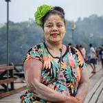 Мост монов — самый длинный деревянный мост в Таиланде