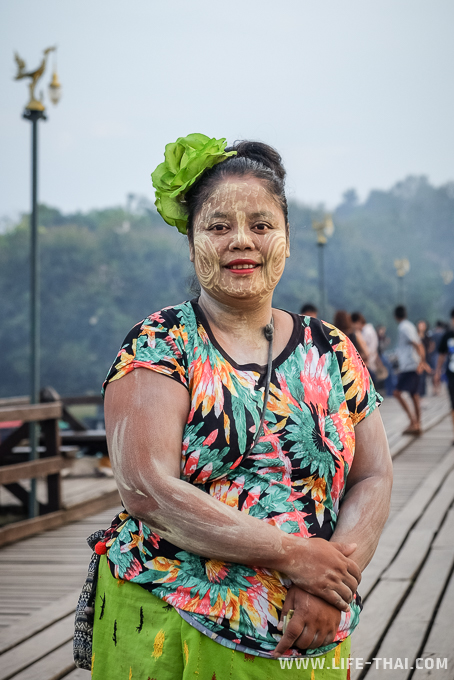 Моны, Канчанабури, Таиланд