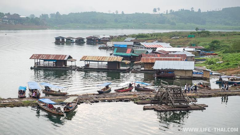 Посёлок монов. Сангклабури, Канчанабури, Таиланд