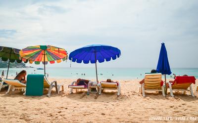 Пляж Ката - хороший пляж для молодёжного отдыха на Пхукете