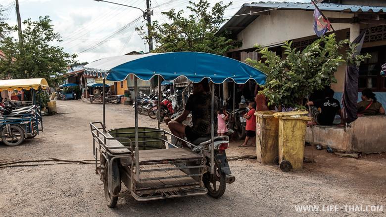 Деревня морских цыган на ко сире, Пхукет, Таиланд