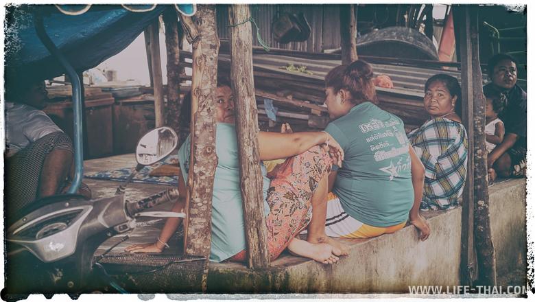 Жизнь морских цыган на Ко Сире, Пхукет, Таиланд