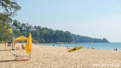 Найтон бич на Пхукете - отличный пляж для спокойного отдыха