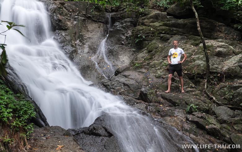 Водопад Кату на Пхукете, Таиланд