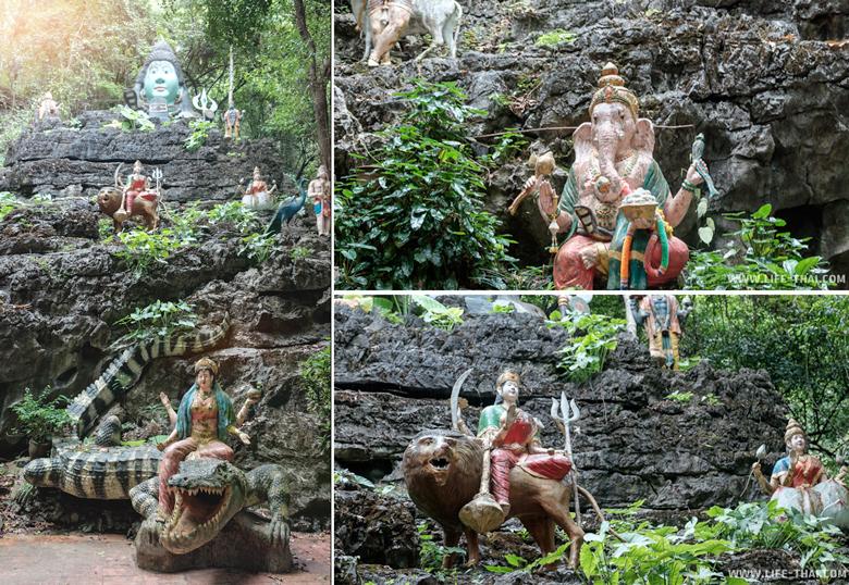 Рай в Храме Рая и Ада в Таиланде