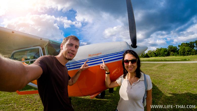 Селфи с самолётом, Таиланд, Пхукет