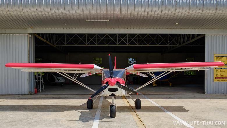 Сверхлёгкий самолёт на бензине, Пхукет, Таиланд
