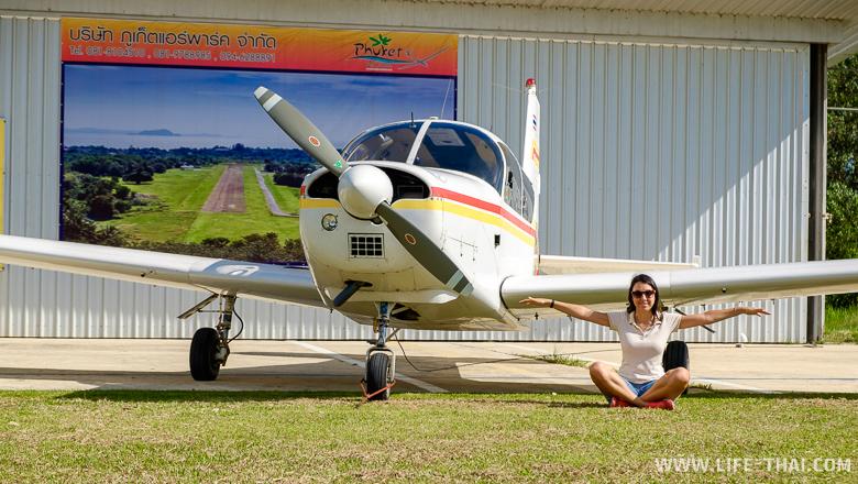 Самолёт малой авиации, Пхукет, Таиланд