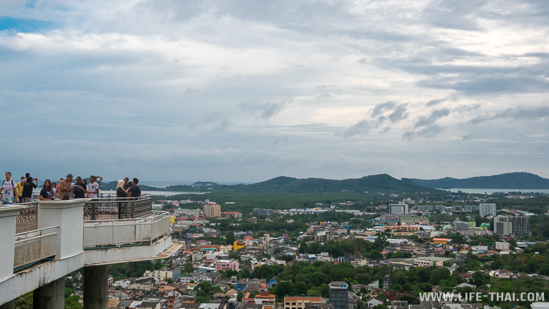 Смотровая площадка Ранг Хилл в Пхукет Тауне, Таиланд