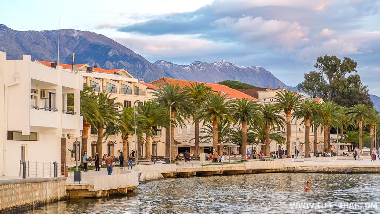 Тиват. Черногория - очень красивая страна.